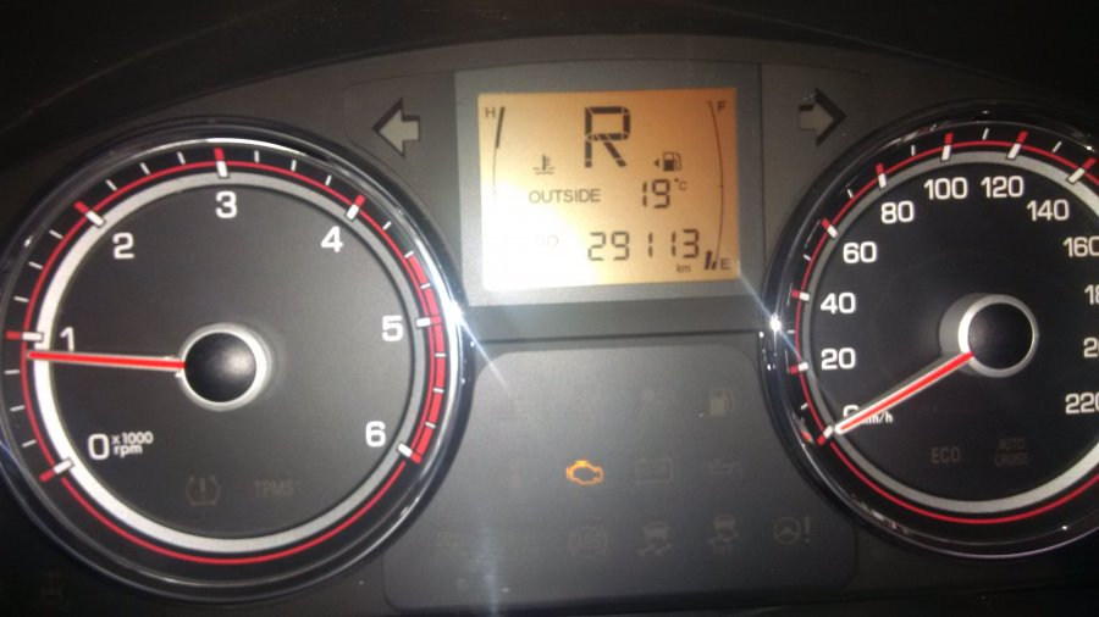 Complaint-review: Mahindra SA - Engine Warning Light & Limp Mode. Photo #2